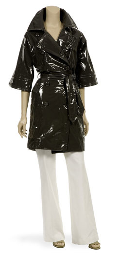 Club Monaco 3/4 Wide Sleeve Double Breasted Trench Slicker