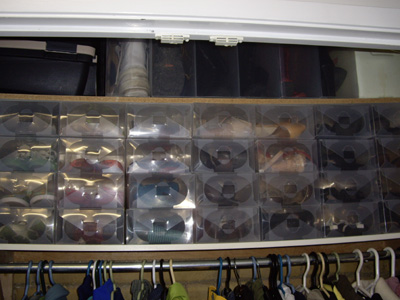 Clear Shoe Boxes - Shoe collection