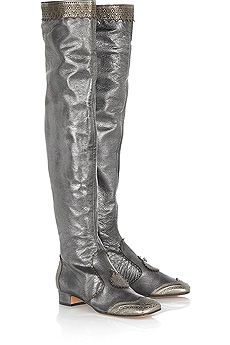 Anna Sui boots grey