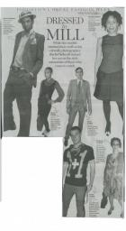 Dress to Mill, National Post October 27, 2007