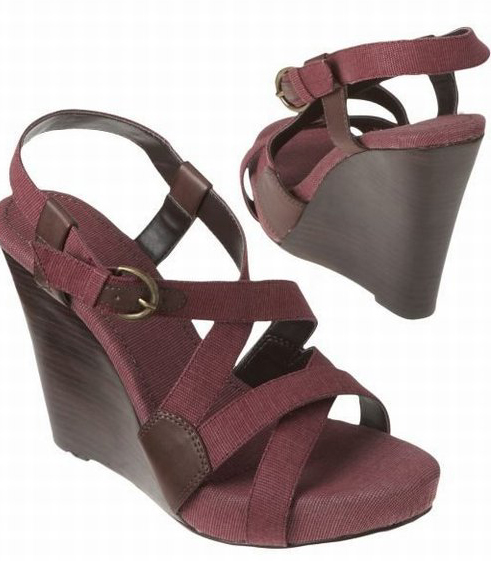 I got Canvas Wedges from Old Navy
