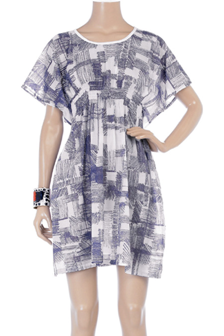 Scribble print dress MM6 by Maison Martin Margiela