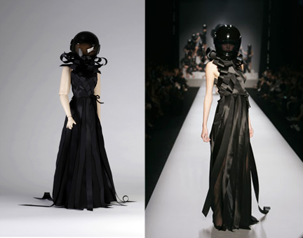 Viktor & Rolf had an exhibit called The House of Viktor & Rolf at the