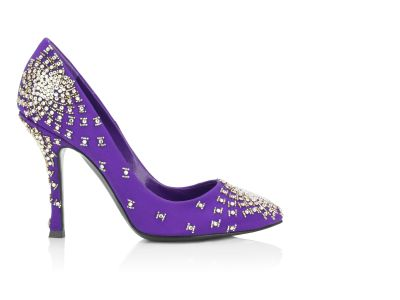 Sergio Rossi Fall Winter 2008 Fiore Crystal Studded Pump