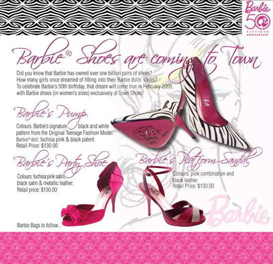 barbie shoes for women