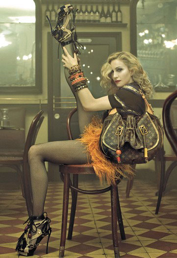 Madonna and Louis Vuitton - Spring Summer 2009