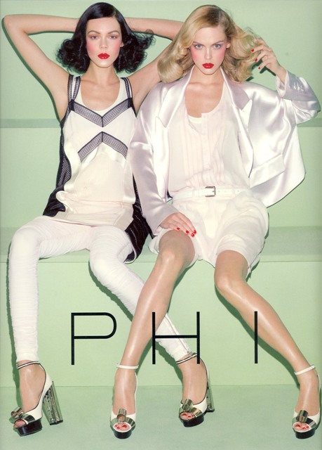 Phi Spring Summer 2009 - Ad Campaign