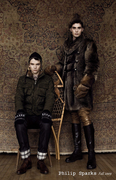 Philip Sparks Ready to Wear - Fall 2009- 2010 Lookbook