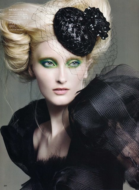 Prime Time by Francois Nars  - Vogue Nippon Beauty September 2009