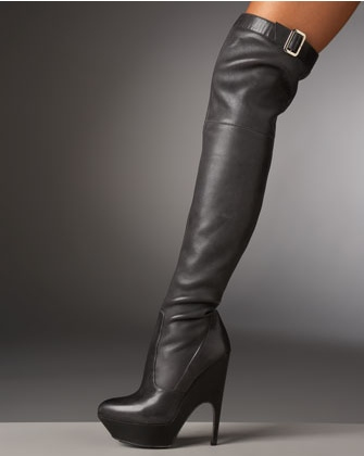 YSL Over the Knee Boot