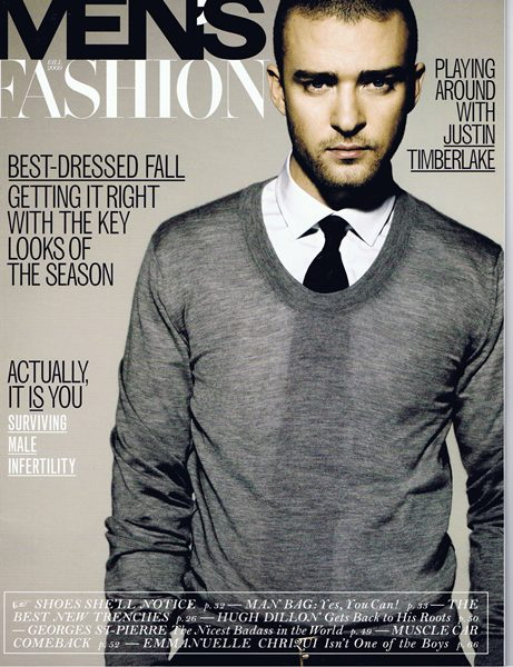 FASHION Magazine's Men's Fall Style Special Event