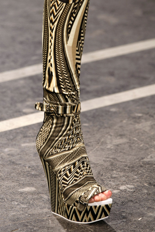 Givenchy Spring 2010 Wedges