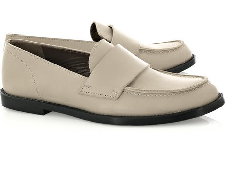 Leather penny loafers by Marni