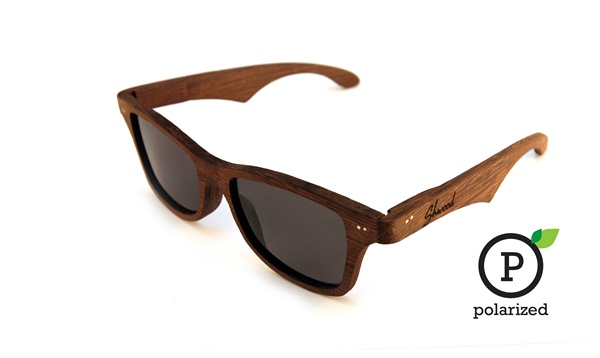 Canby Shades with East Indian Rosewood and polarized grey lens - Shwood Eyewear