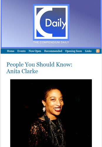 People You Should Know: Anita Clarke on The Compendium Daily