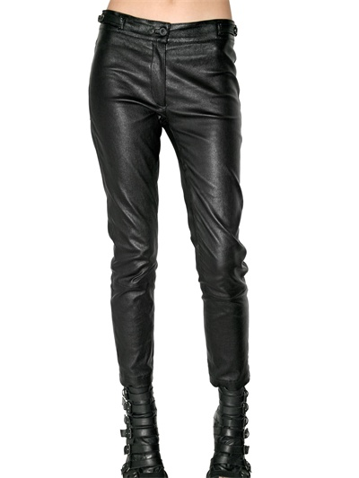 Leather Trousers by Ann Demeulemeester