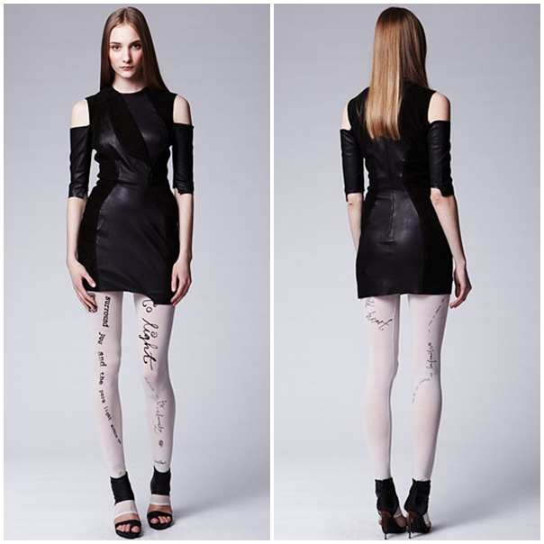 A Leather Dress by Acne
