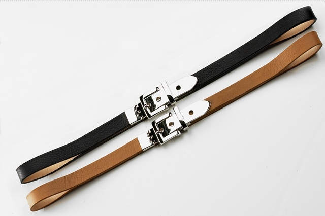 Skinny Belts by Brave Leather