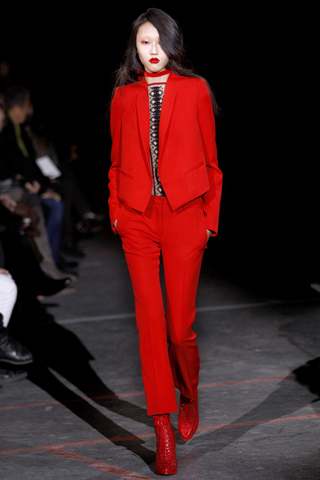 Fall Winter 2010 Runway Fashion Trends - Red - Givenchy