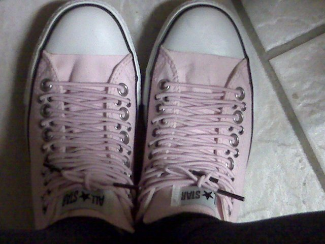 Chuck Taylor All Star Multi Eyelet in Pink
