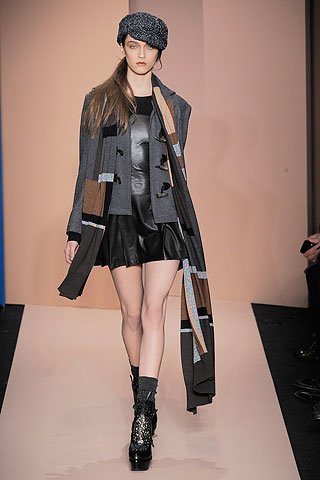 Fall Winter 2010 Runway Fashion Trends  - Pleated Skirt - DKNY