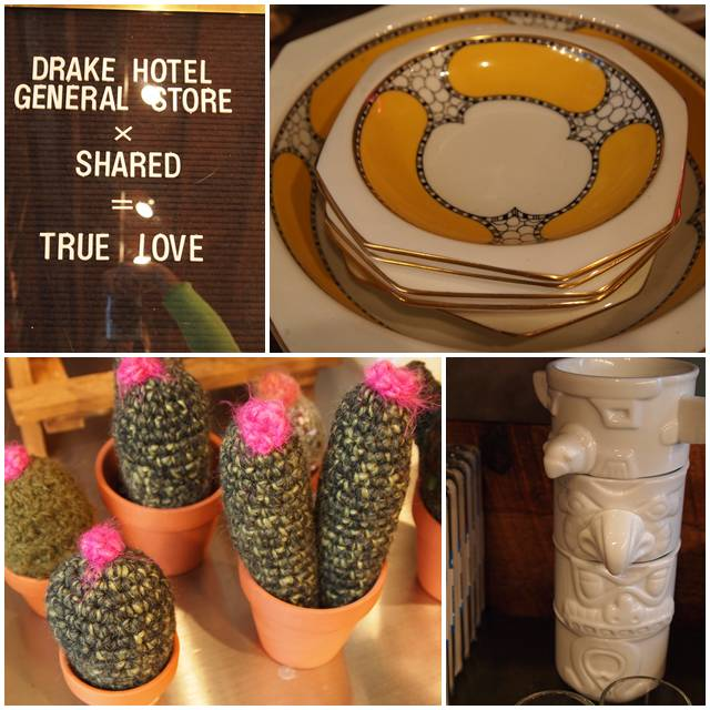 Drake Hotel General Store x Shared