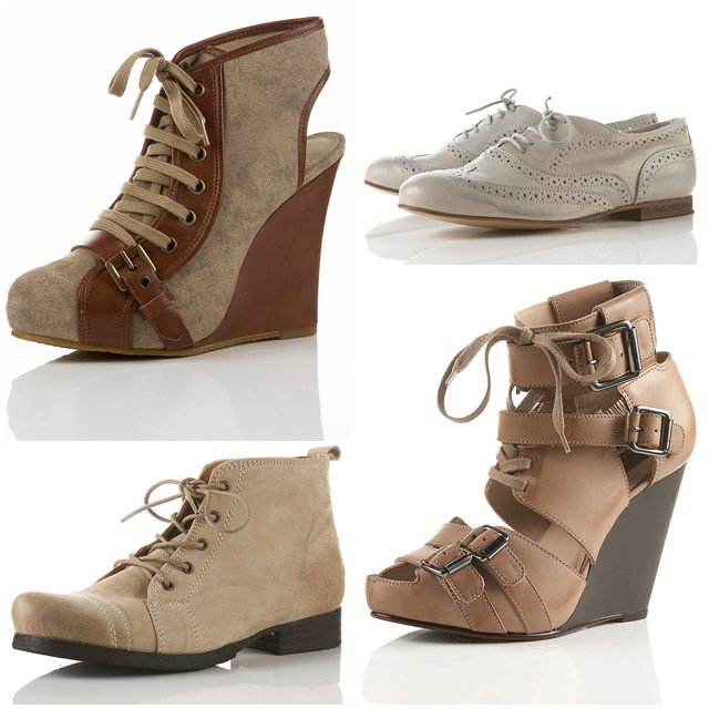 In honour of Topshop coming to Jonathan+Olivia in Toronto I've decided to take a look through the site and choose some shoes I would like to see cross the