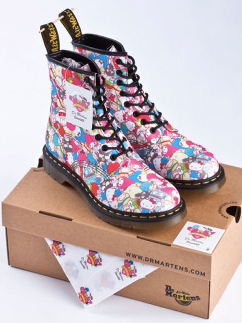 Sanrio x Dr. Martens 50th Anniversary Collection Freshness Mag