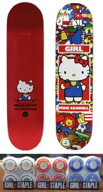 Sanrio 50th Anniversary – Sanrio x Girl Skateboards