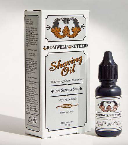 Cromwell and Cruthers Shaving Oil