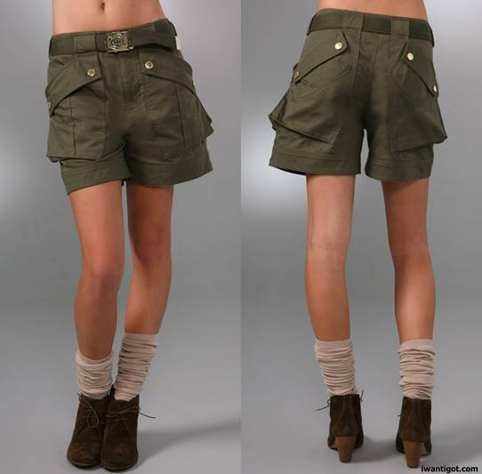 Marlow Twill Shorts by Marc by Marc Jacobs