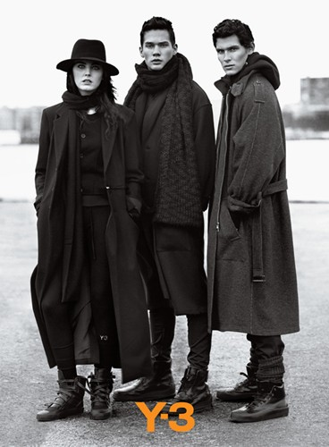 Y-3 Fall Winter 2010 - 2011 Ad Campaign