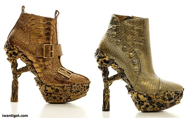 alpertain pavesi ǒ alexander mcqueenH&M Winter 2011-2012 Shoesكولكشن alexander Mcqueenأحذية