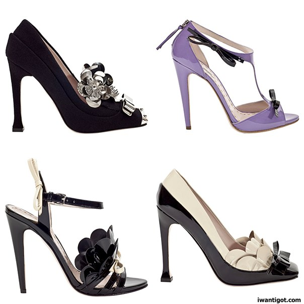 Miu Miu Fall Winter 2010 - 2011 Shoes