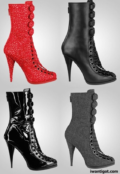 Givenchy Fall Winter 2010 - 2011 Boots
