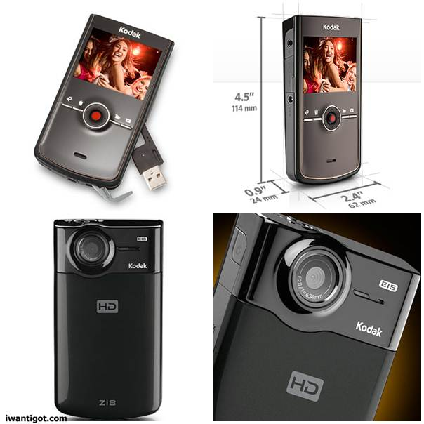 Zi8 Pocket Video Camera
