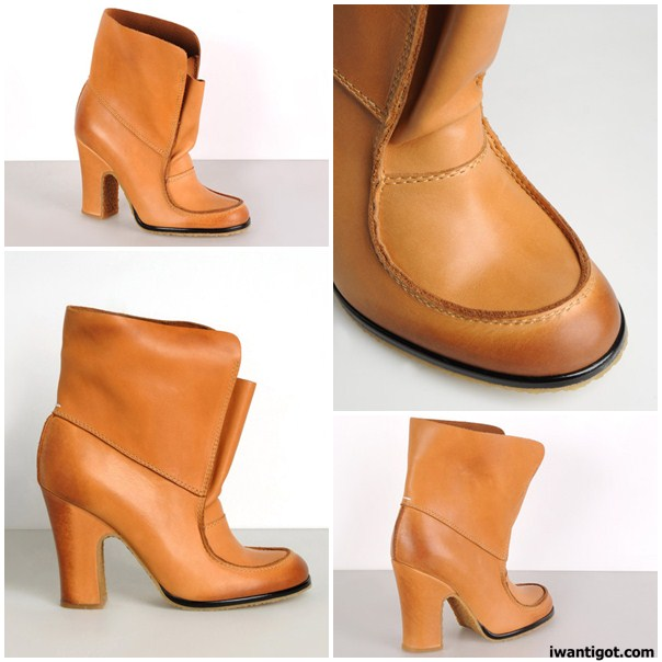 Rubber Sole Ankle boots by Maison Martin Margiela