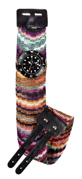 ToyWatch dressed by Missoni