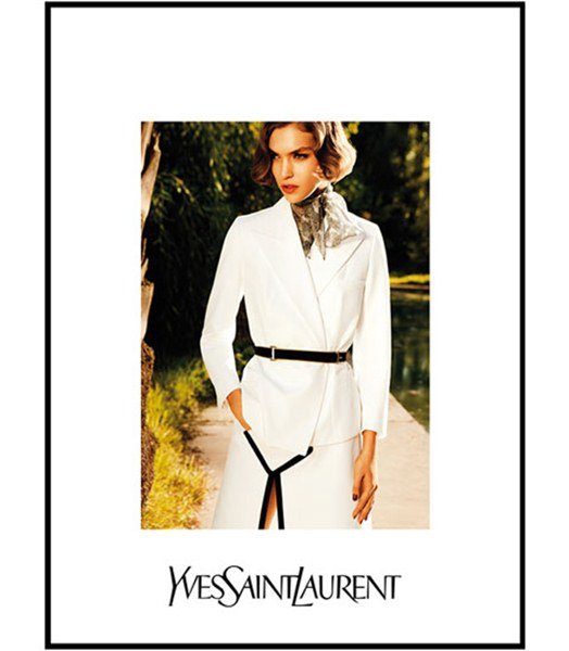 Yves Saint Laurent Spring Summer 2011 Ad Campaign