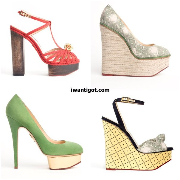 Charlotte Olympia Shoes Spring Summer 2011