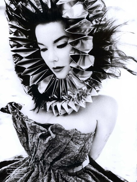 Björk in AnOther Magazine Fall Winter 2010 - 2011