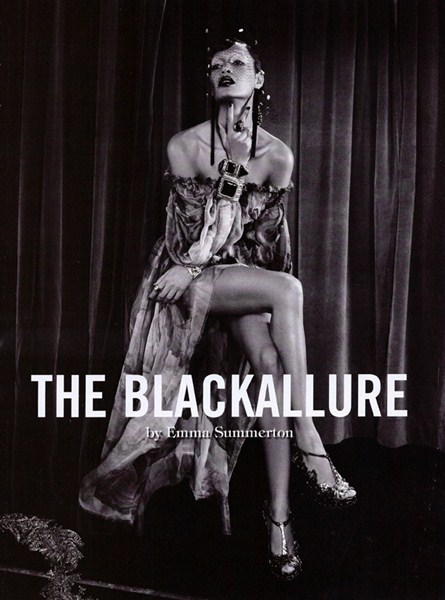 Vogue Italia February 2011 - The Black Allure