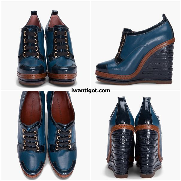 Marc By Marc Jacobs Dries Wedge Booties