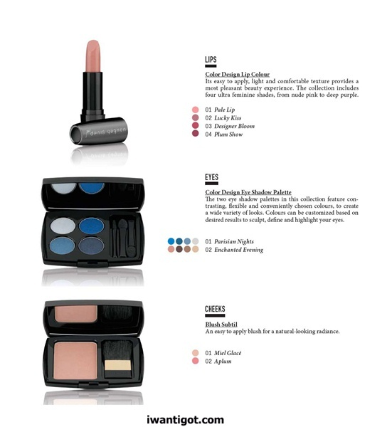 Denis Gagnon x Lancôme Fall 2011 Makeup