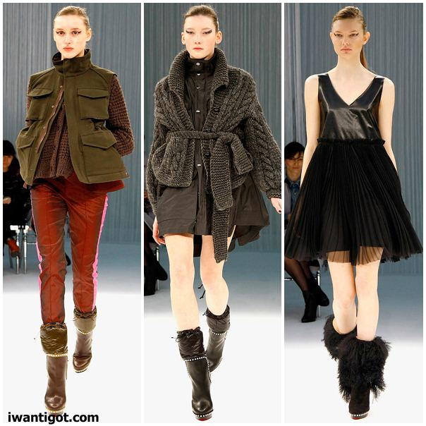 Sacai Fall Winter 2011 - 2012