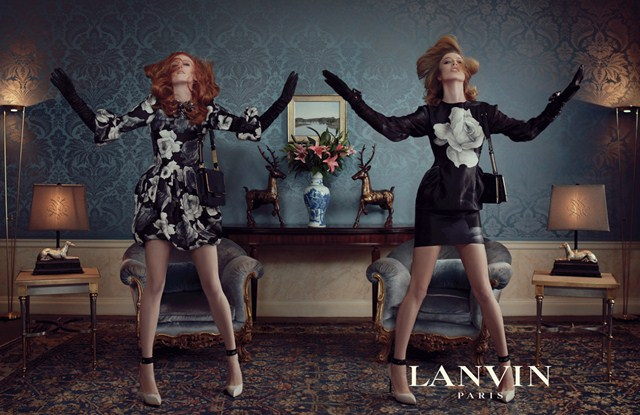 Lanvin Fall Winter 2011 - 2012 Ad Campaign (1)