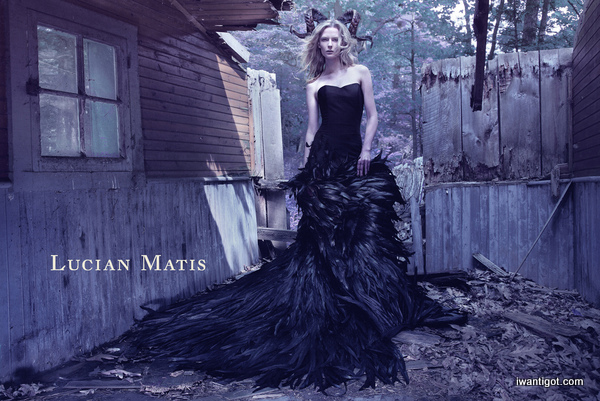 Lucian Matis Fall 2012 Ad Campaign