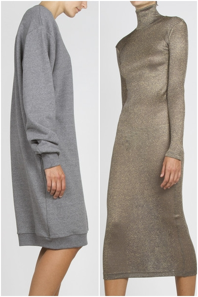 complex geometries coma sweatshirt, complex geometries Long Turtleneck Dress