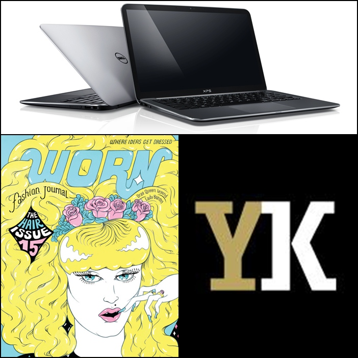 Dell XPS13 Ultrabook, Worn Fashion Journal Subscription, Print from YellowKorner