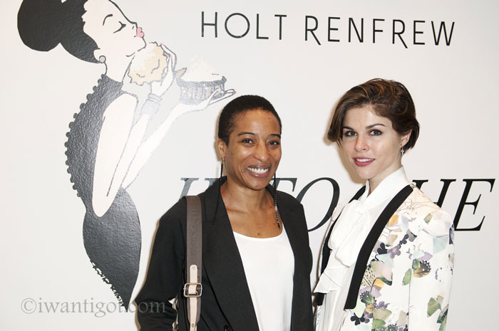 Lunch with Into The Gloss at Holt Renfrew